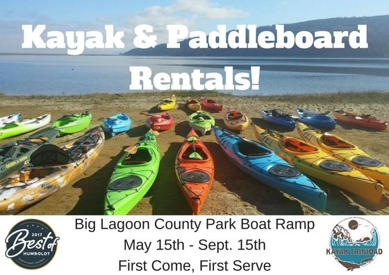 Kayak & Paddleboard Rentals!
